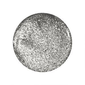 Glitter Gel Metallic Silver