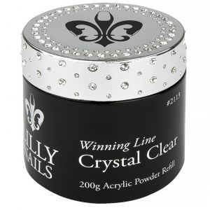 Acrylic Powder Crystal Clear 200g