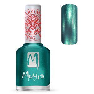 Moyra Nail Polish Chrome Green SP 27