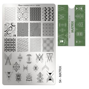 Moyra Stamping Plate Matrix