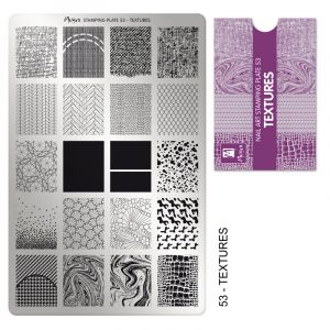Moyra Stamping Plate Textures