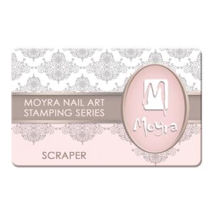 Moyra Scraper Apricot Transparent