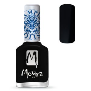 Moyra Nail Polish Black SP 06