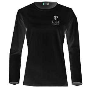 Långärmad T-shirt Lilly Svart