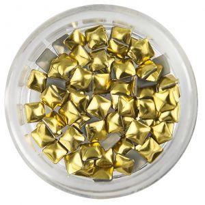 Fyrkantiga nitar, guld