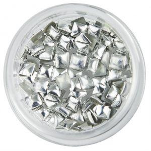 Fyrkantiga nitar, silver