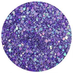 Glittermix Poison Violet